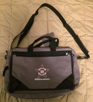 Grey Office Depot Messenger/Laptop Bag for Sale in Eugene, OR