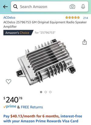 NEW ACDelco Bose GM Original Equipment Radio Speaker Amplifier for Sale in Myrtle Beach, SC