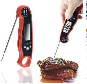 Meat Thermometer, WeGuard Instant Read Thermometer cooking thermometer with backlight magnet Auto On/ Off digital probe food thermometer for BBQ Gril for Sale in Oakland, CA