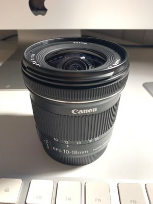 Canon EF-S 10-18mm F/4.5-5.6 IS STM Lens for Sale in Vernon, CA