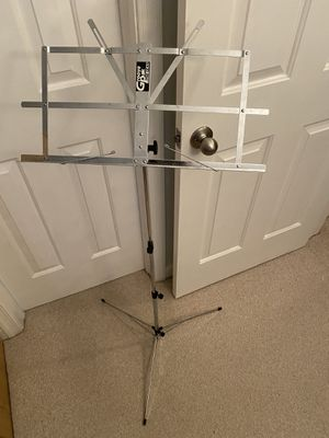 Portable Music Stand with Carrying Case for Sale in Richmond, VA