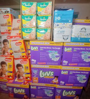 VARIOUS BABY DIAPERS for Sale in Grand Prairie, TX