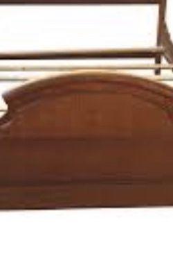 Queen Bed W Mattress Set Oak Or Dresser,nightstand for Sale in Broadview Heights,  OH