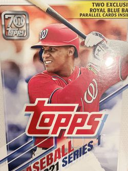 Topps 2021 Series 1 MLB Baseball Trading Cards Hanger Box- 67 Cards Brand New Sealed— $15 Each $5 Shipping for Sale in San Dimas,  CA