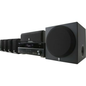 Yamaha YHT-595BL Complete 5.1-Channel Home Theater System for Sale in Hanford, CA