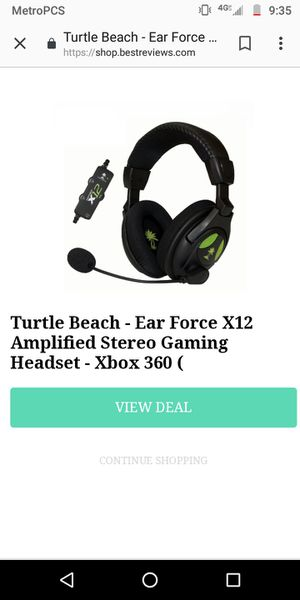 Turtle Beach headset for Sale in Cleveland, OH