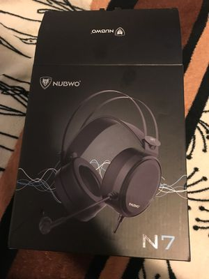 Nubwo N7 headphones w/ pc adapter for Sale in Umatilla, OR