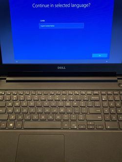 Dell Vostro 15-3568 Intel Core i3-7020U CPU 2.30GHz 4 GB RAM Windows 10 Pro for Sale in Los Angeles,  CA