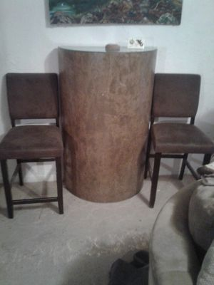 antique wood shelf and chairs for Sale in Dallas, TX