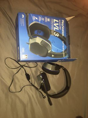 PlayStation Afterglow LVL 3 gaming headset for Sale in Deatsville, AL