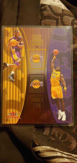 Los Angeles Lakers Kobe Bryant MVP black mamba for Sale in Perris, CA