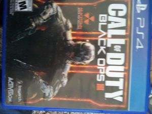Call of duty blackops 3 ps4 for Sale in Cobbtown, GA