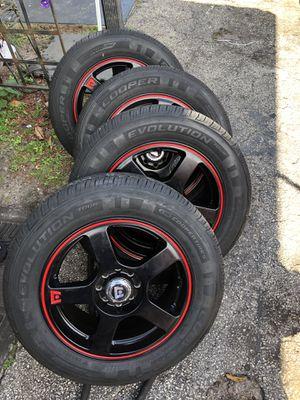 "Motegi racing rims ""MR116"" 15 inch for Sale in Hollywood, FL"