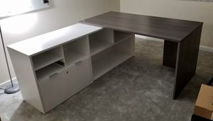 Modern L Shape Desk with Chair for Sale in Miami, FL