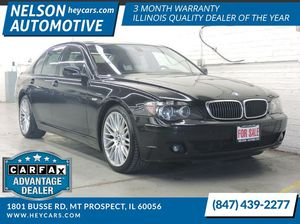 2008 BMW 7 Series for Sale in Mount Prospect, IL