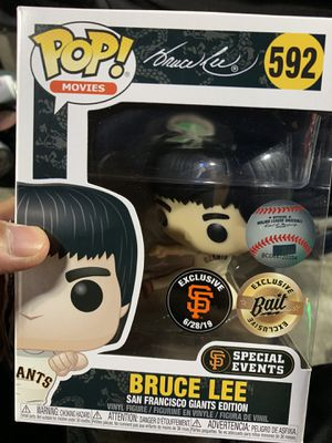 BRUCE LEE POP GIANTS ACTION FIGURE for Sale in Pacifica, CA