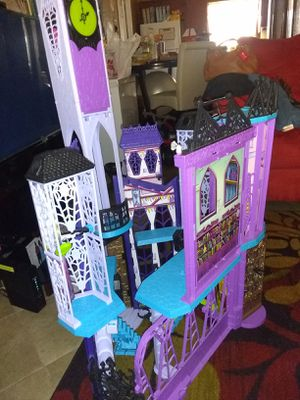 Used, Monster High Deluxe Doll House for Sale for sale  Tampa, FL