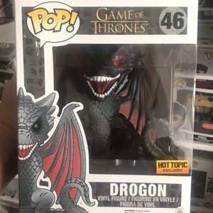 """Funko Pop! Game Of Thrones Red eye Drogon 6"""" #46 Hot Topic for Sale in Queen Creek, AZ"""