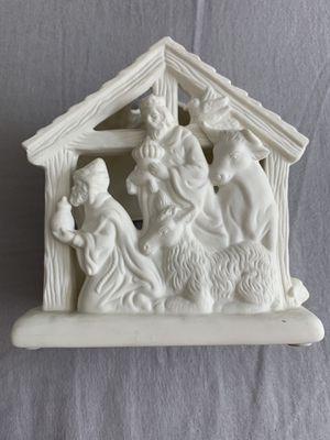 Party lite Ceramic Nativity Scene, Set Of 3 for Sale in Yorba Linda, CA