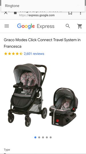 Graco modes click connect travel system for Sale in Richmond, VA