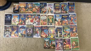VHS tapes assortment, Disney etc.. for Sale in Sarasota, FL