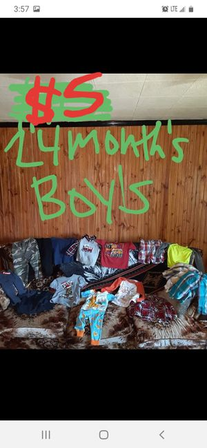 Boys 24 months clothing lot good condition for Sale in Saint Thomas, PA