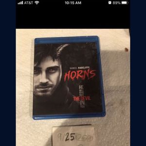 Horns Blu-ray for Sale in Fort Lauderdale, FL