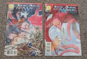 1995 Ice Age On The World Of Magic Comic Books NO. 2 & NO. 4 $6.00 Each for Sale in Burlington, NC