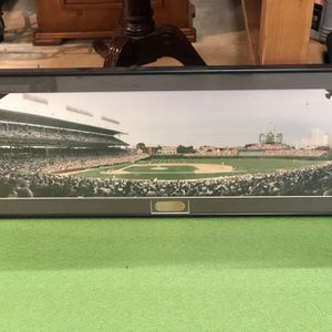 Framed Pictures Of Yankee Stadium And Wrigley for Sale in Snohomish, WA