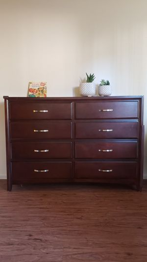 Jeromes Wooden Dresser with mirror for Sale in San Diego, CA
