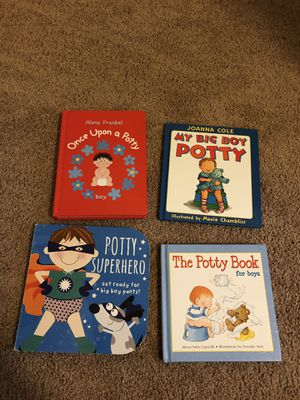 Books- potty training for Sale in Gambrills, MD