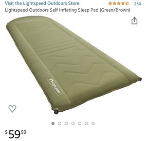 Sleep Pad. Great for camping! NEW $50 for Sale in Monterey Park, CA