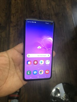 Samsung Galaxy S10E Factory Unlocked PAID OFF UNLOCKED FOR LIFE for Sale in San Marcos, CA