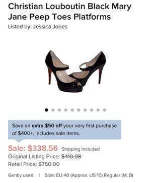 Peep toe Mary Janes original for Sale in Moreno Valley, CA