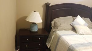 "Small Blue ceramic lamp 20""H x 4""W for Sale in West Palm Beach, FL"
