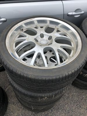 Porsche Cayenne wheels and tires. for Sale in Boston, MA