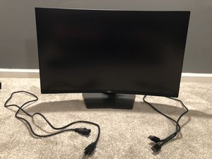 "Dell 32"" 1440p 165HZ Curved Gaming Monitor for Sale in Strongsville, OH"