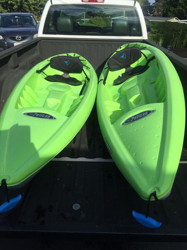 Kayak Set - Pelican Stinger 100
