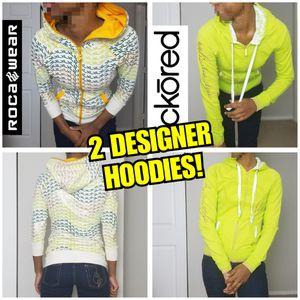 2 Authentic Designer Hoodies for Sale in Marietta, GA