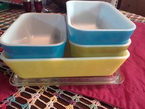 Pirex primary color refrigerator boxes for Sale in La Habra Heights, CA