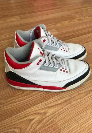 Air Jordan 3, size 10 for Sale in San Francisco, CA