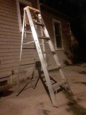 Keller medium duty aluminum 6 foot ladder. $40 OBO for Sale in Sioux Falls, SD