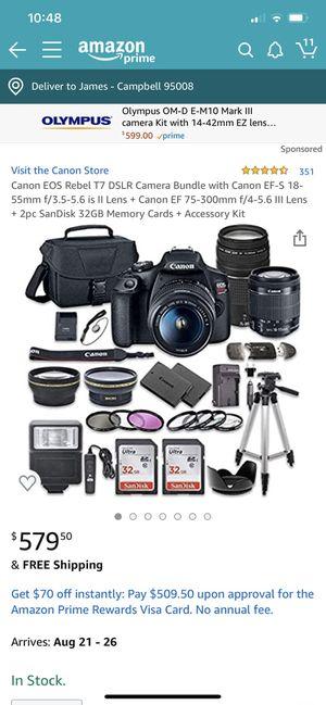 Canon EOS Rebel T17 DSLR for Sale in San Jose, CA