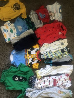 Baby boy newborn clothes for Sale in Moreno Valley, CA