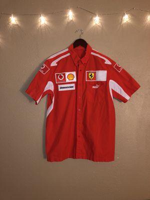 Puma Team Ferrari Shirt, Size Large for Sale in Phoenix, AZ