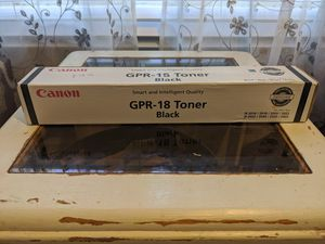 Canon GPR-18 Toner Black for Sale in Clayton, NC