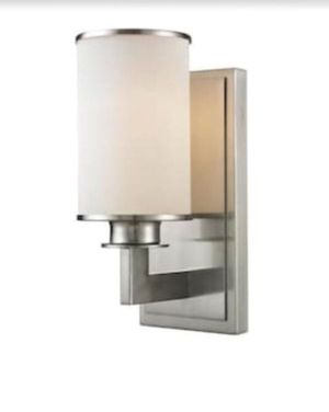 Brushed Nickel Wall Sconce for Sale in Columbus, OH