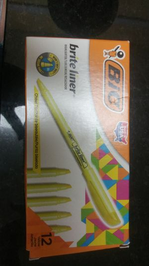 Highlighters Yellow for Sale in New Port Richey, FL