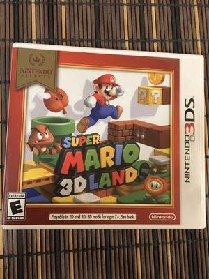 Super Mario 3D Land Nintendo 3DS Game for Sale in Marina, CA