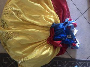 Girl Disney costumes size 4-7 lot! for Sale in Phoenix, AZ